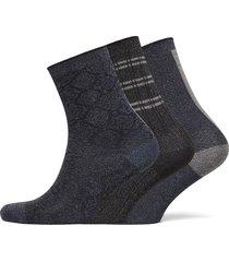 decoy 3-pack sock in box lingerie socks regular socks blå decoy
