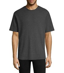 everest thermal oversized raw edge tee