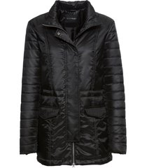 giacca trapuntata a collo alto (nero) - bodyflirt