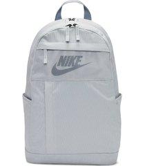 morral nike elemental backpack 2.0 - gris claro