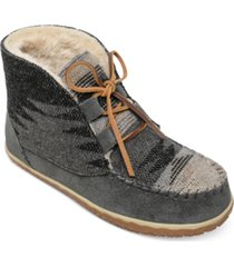 minnetonka torrey lace-up bootie women's shoes