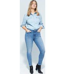 irene bi-stretch push-up jeans