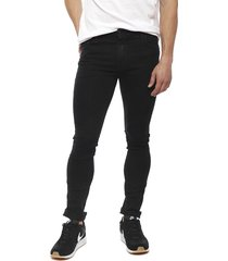 jeans coca-cola negro - calce skinny