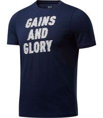 camiseta hombre reebok gs opp tee - graphi
