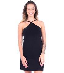 vestido up side wear decote x preto