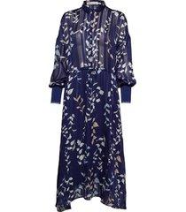 hollis dress jurk knielengte blauw inwear