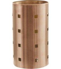 porta talheres de mesa inox bronze