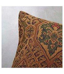 capa de almofada cerro 45x45 cor: marrom - tamanho: único