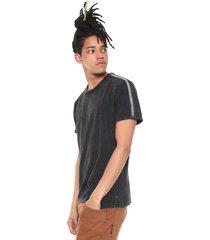 camiseta rvca dot tape preta - preto - masculino - dafiti