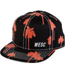 palm-print ball cap