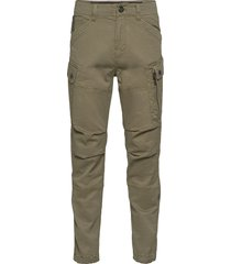 roxic straight tapered cargo pant trousers cargo pants grön g-star raw
