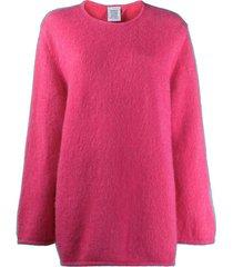 oversized open back sweater