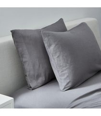 splendid slub jersey solid standard pillowcase pair bedding