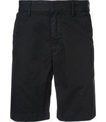 save khaki united bermuda shorts - black