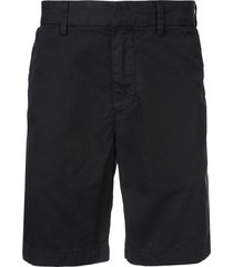 save khaki united bermuda shorts - black