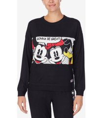 disney mickey & friends lounge sweatshirt