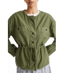 women's madewell claremont drawstring jacket