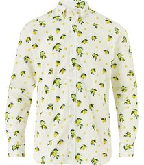 skjorta jprblamotive print shirt l/s plain, slim fit