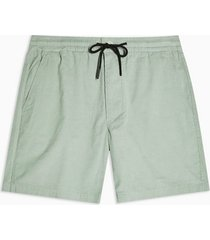 mens green sage corduroy pull on shorts
