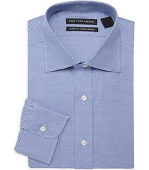 classic-fit houndstooth dress shirt