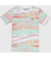 camiseta multicolor adidas originals r.y.v.