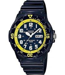 reloj casio mrw_200hc_2bv negro resina