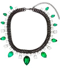colar la madame co maxi colar verde