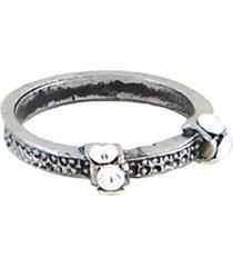 anel armazem rr bijoux falange cristais prata