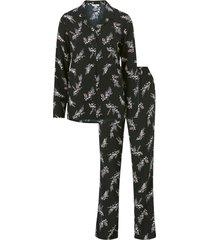 blommig pyjamas