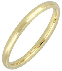 bony levy 14k gold wedding band ring, 2mm, size 11 in yellow gold at nordstrom