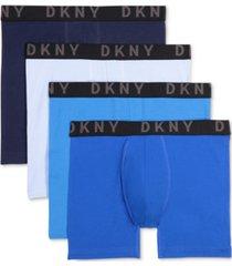 dkny men's 4-pk. cotton stretch boxer briefs