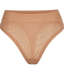 skims summer mesh thong, size xx-small in sienna at nordstrom