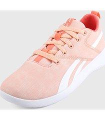 tenis lifestyle rosa-coral-blanco reebok ardara 3.0