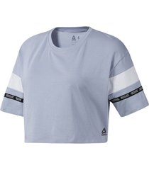 blouse reebok sport meet you there colorblock t-shirt