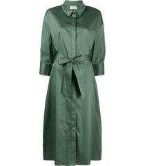 altea mid-length shirt dress - green