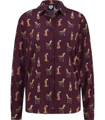 catwalk junkie blouse bordeaux