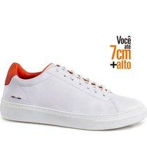 sapatenis fly alth 58059-04-branco-laranja-37