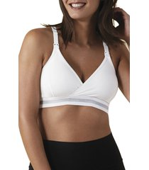 women's bravado designs original nursing bra, size x-large - white