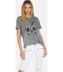 capri electric skull - heather grey xl