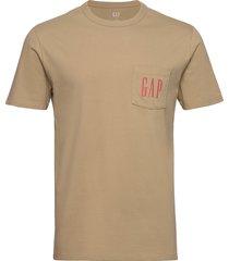 gap logo pocket t-shirt t-shirts short-sleeved gap