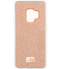 custodia smartphone con bordi protettivi hero, galaxy sâ®9, rosa