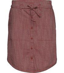 summer chill™ skirt knälång kjol röd columbia