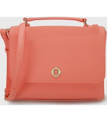 bolso coral tommy jeans