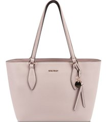 nine west paisley small tote