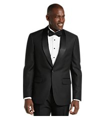 jos. a. bank tailored fit herringbone formal dinner jacket - big & tall, by jos. a. bank