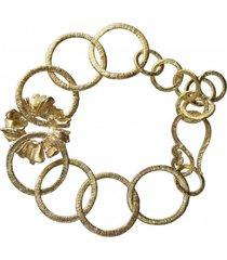 bransoletka złota rumianki