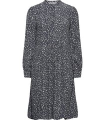 nusa shirt dress aop 10864 kort klänning blå samsøe samsøe