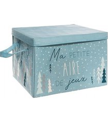 pojemnik na zabawki pudełko petit blue