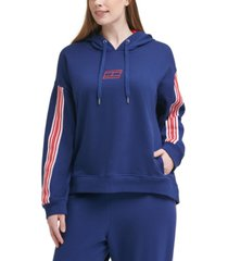 tommy hilfiger sport plus size drop-shoulder hoodie