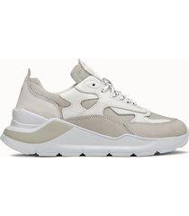 d.a.t.e. sneakers fuga lurex colore beige